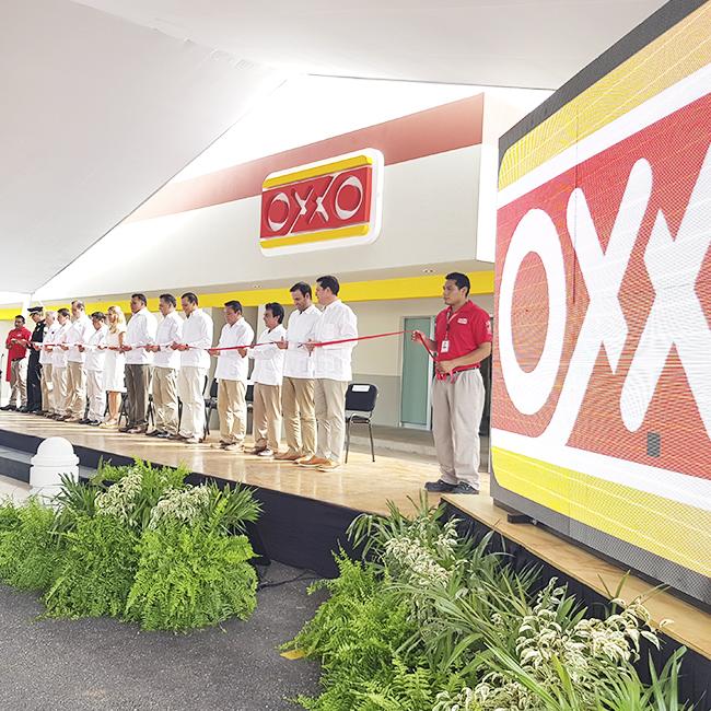 Inauguración Cedis OXXO