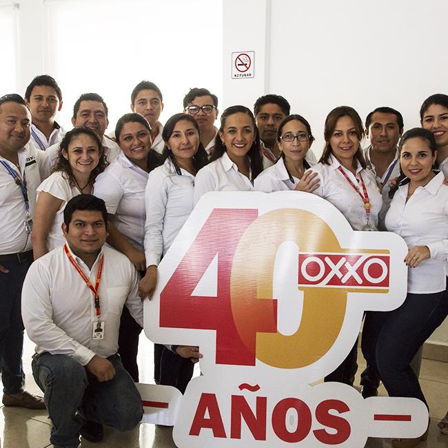 Aniversario 40 de OXXO